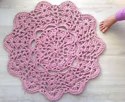 How To Crochet A Rug Out Of Yarn How To Crochet Rag Rugs