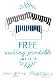 printable placecards free printable place cards the budget savvy