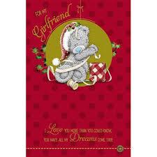 me to you bear girlfriend boyfriend fiance fiancee christmas cards