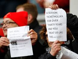 Cheapest Six Flags Tickets Liverpool Fan Protest Supporters Wave Black Flags Ahead Of