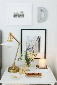 how to decorate a side table in a living room bedroom side table decor home decorating ideas