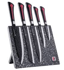 Kitchen Knives Block Set Amazon Com Imperial Collection 6 Piece Knife Set Including