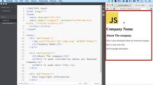 html layout header content footer layout tags common elements used to layout an html page ilovecoding