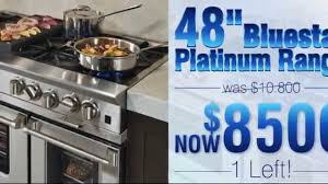 Cooktops On Sale Curtos Com Blue Star 48 Platinum On Sale Youtube