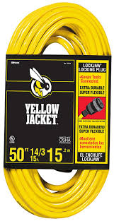 Heavy Duty 15 Amp 2 by Yellow Jacket 2734 14 3 Heavy Duty 15 Amp Sjtw Extension Cord With