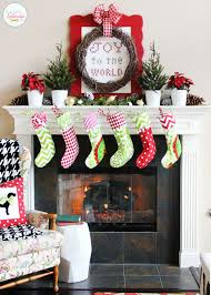 How To Decorate A Mantel For Christmas Christmas Mantel Ideas How To Style A Holiday Mantel