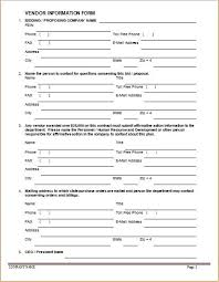 contact information form 54 free emergency contact forms
