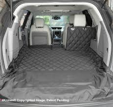 Audi Q5 Dog Guard - suv 60 40 split cargo cover liner for dogs and pets 4knines
