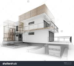 house design progress architecture drawing and visualization