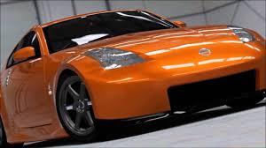 Nissan 350z Orange - forza 4 nissan 350z 370z fairladyz youtube