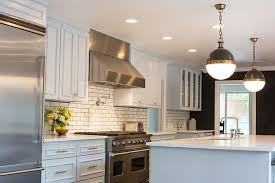 white subway tile kitchen dakr grout brilliant ideas white