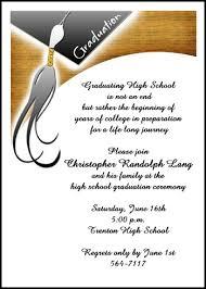 graduation ceremony invitation high school graduation invitation announcement with tassel 7458ibu hs