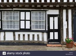 tudor style house in debenham england stock photo royalty free