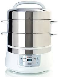 steamer cuisine amazon com cuisine fs2500 electric food steamer white