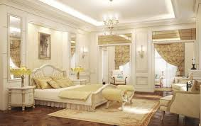 glamour nuance modern room decoration with white chandelier and