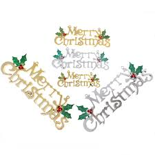 New Year Decoration Product by Christmas Word Decorations Promotion Shop For Promotional
