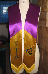 personalized graduation stoles custom graduation stoles manufacturer of printed embroidered