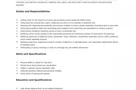 food production line worker resume unforgettable picker and