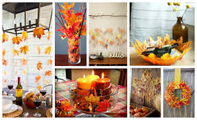 thanksgiving diy projects diy fall leaves decor archives