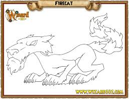 coloring pages wizard101 free online game