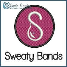 sweaty band sweaty band logo embroidery design emblanka