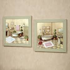 garran bathroom washtub framed wall art set