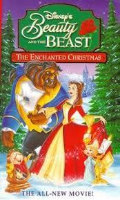 beauty beast enchanted christmas