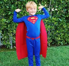 blue crayon halloween costume no sew diy superman kids costume primary com