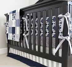 Custom Crib Bedding Sets Custom Crib Bedding Navy Blue And Grey Elephant By Gigglesixbaby