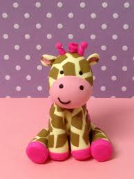 jungle gill giraffe cake topper by paolascreations on etsy 35 00