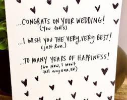 Congratulations Wedding Card Unique Wedding Card Etsy