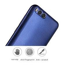 shine carbon fiber for xiaomi mi 6 tpu slim phone