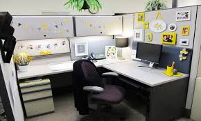 Cubicle Decoration Themes Cool Work Desk Accessories Office Cubicle Design Stylish Office