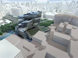 bmw showroom zaha hadid hadid architects innovation tower