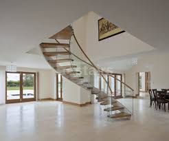 Helical Staircase Design Floating Helical Staircase Contemporary Staircase London