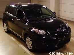 2012 toyota ist black for sale stock no 41364 japanese used