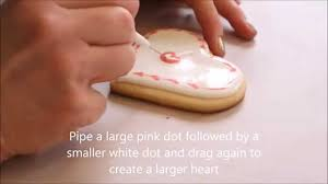 Valentines Day Decorated Cookies by Valentine U0027s Day Decorated Cut Out Cookies With Royal Icing Youtube