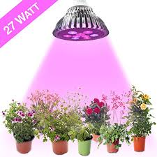 Grow Lights For Indoor Herb Garden - cheap led grow lights for indoor plants 27w best for general