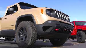 jeep renegade comanche pickup concept moab 2016 comanche jeep youtube
