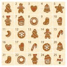christmas advent calendar christmas advent calendar doodle gingerbread cookies merry