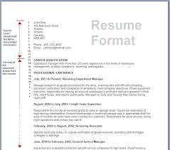 Mechanical Resume Format Pdf Formats For Resumes U2013 Inssite