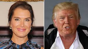 brooke shields dishes about donald trump u0027s pick up line la times