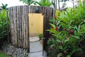 outside bathroom ideas simple outside shower bathroom blogdelibros