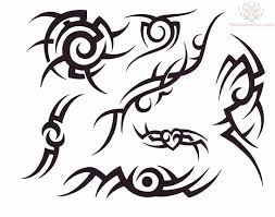 tribal new tattoo design clip art library