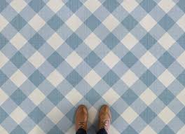 Retro Linoleum Floor Patterns by Gingham Atrafloor