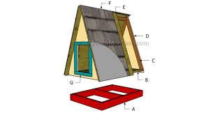 a frame dog house plans myoutdoorplans free woodworking plans