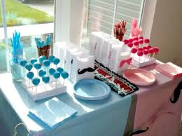 baby shower gender reveal gender reveal baby shower ideas blue and pink baby shower ideas