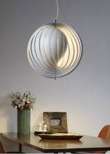 verner panton verpan moon lamp pendant chandelier light in copper