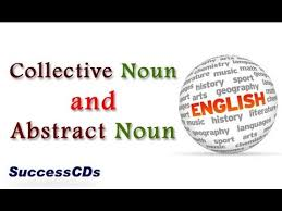 collective noun and abstract noun learn english online youtube