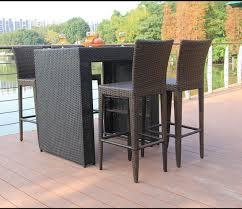 tavoli da giardino rattan mobili da giardino in rattan tavolo da bar mobili da giardino